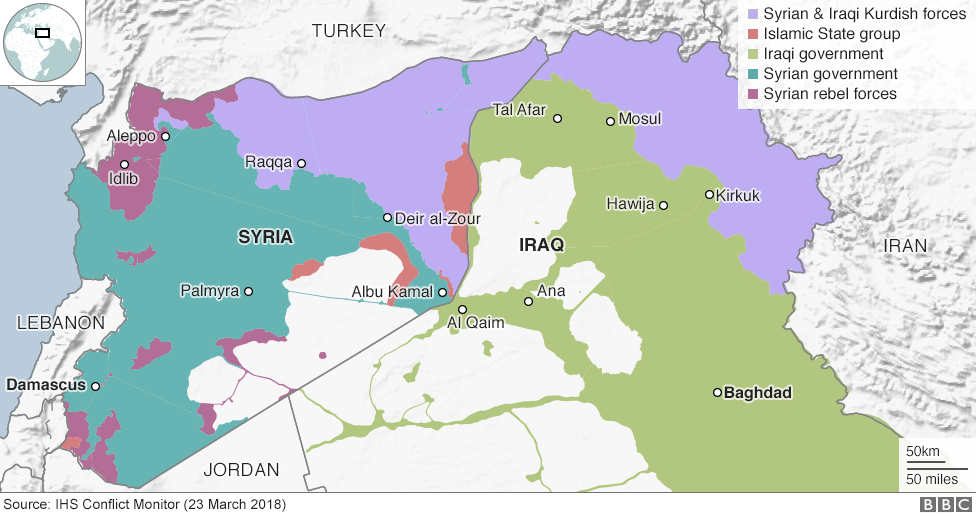 Syrian Territory Map Islamic State and the crisis in Iraq and Syria in maps   BBC News