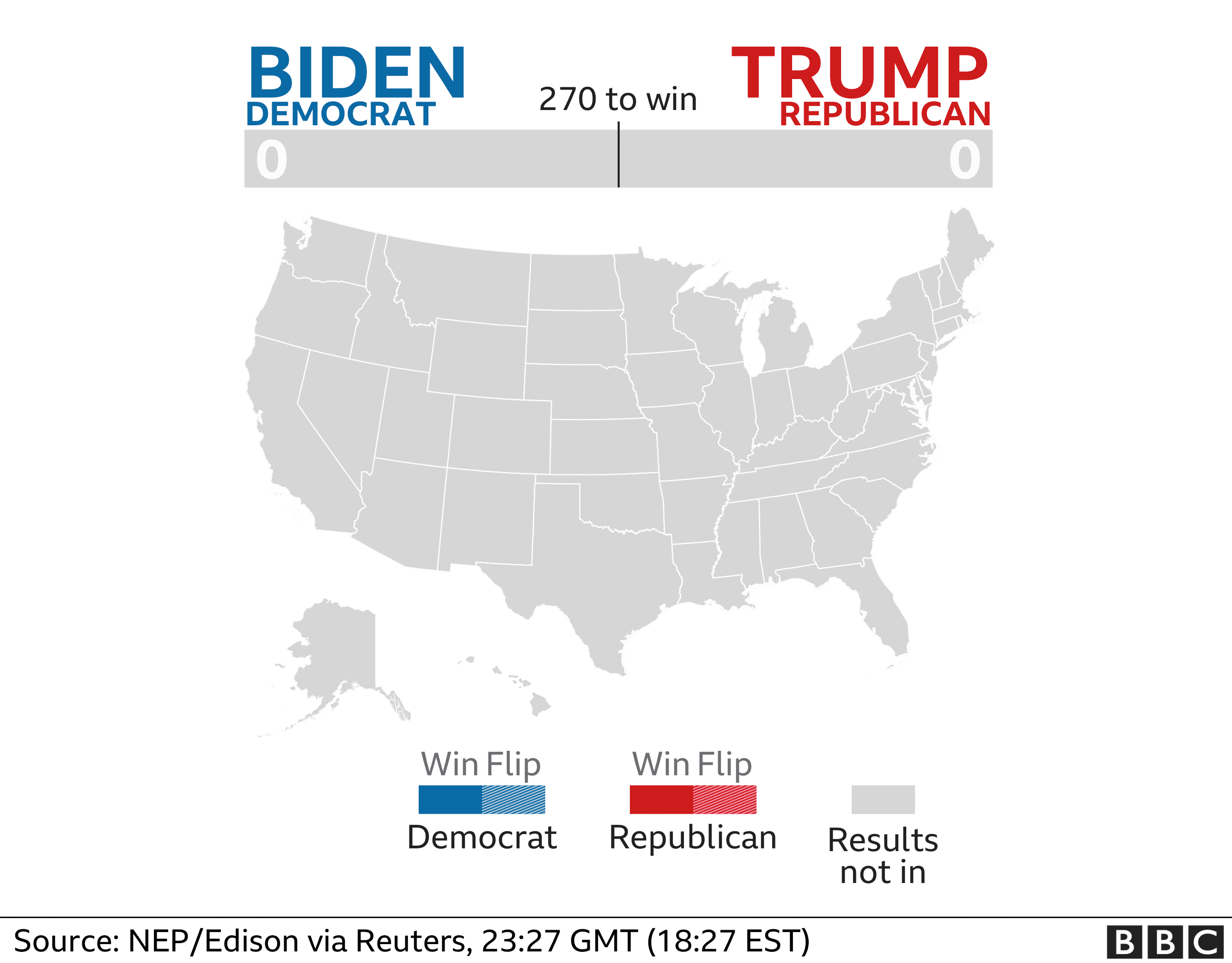 Image of: Us Election 2020 Results And Exit Poll In Maps And Charts Bbc News