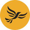 Democratiaid Rhyddfrydol Cymru party logo