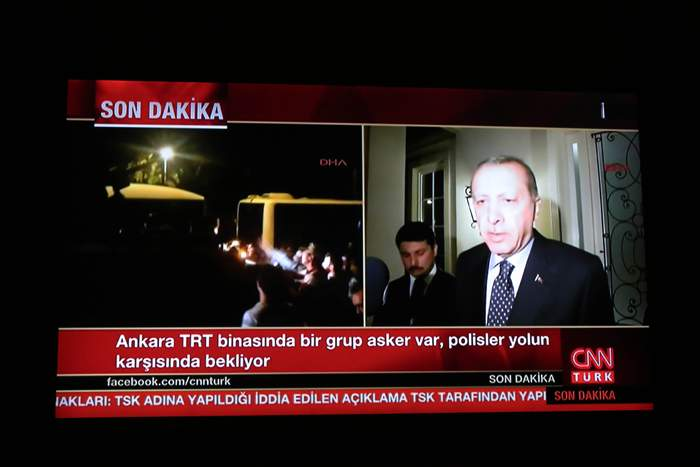 President Erdogan's message to the Turkish people