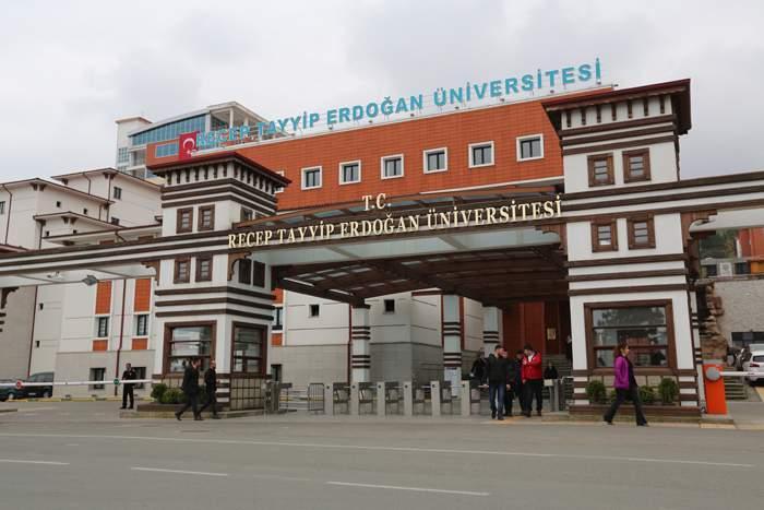 The Recep Tayyip Erdogan University in Rize