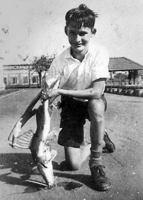 Ken with a catch from the river