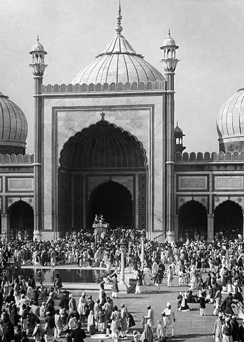Delhi'sJama Masjid photographed in 1935(Getty Images)
