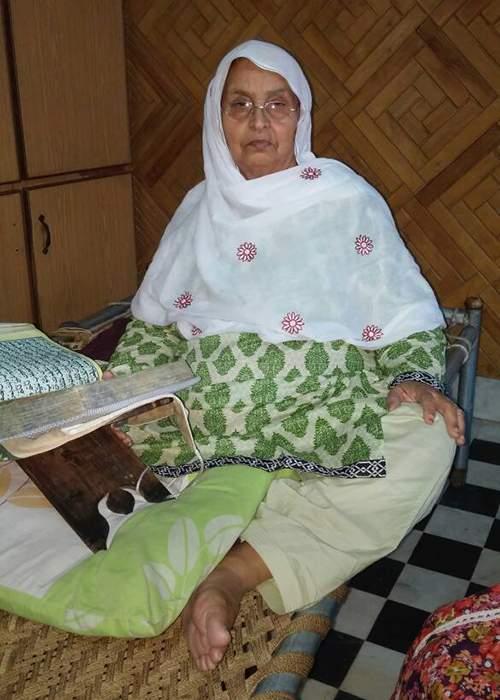 Husnul's grandmother