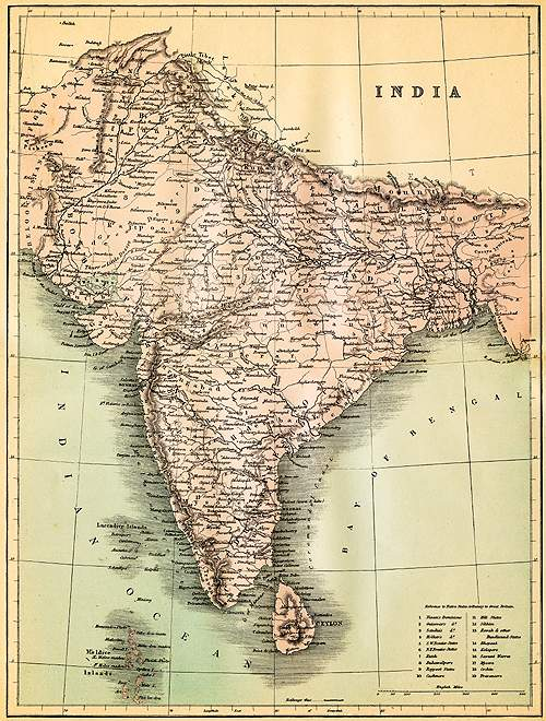 Map of British colonial India(Getty Images)