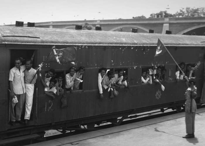 Train leaves Delhi with staff from the new Pakistan government(Getty Images)