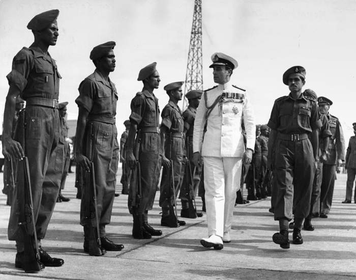 Lord Mountbatten at Viceroy House in New Delhi(Getty Images)