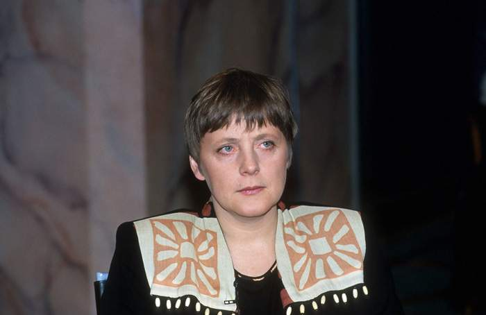 Angela Merkel in 1994