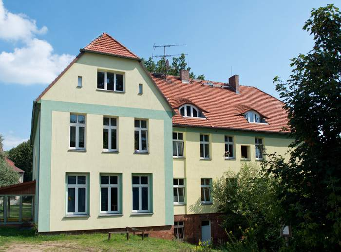Merkel's childhood home in Templin