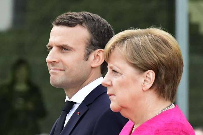 Merkel has indicated support for her new French counterpart, Emmanuel Macron