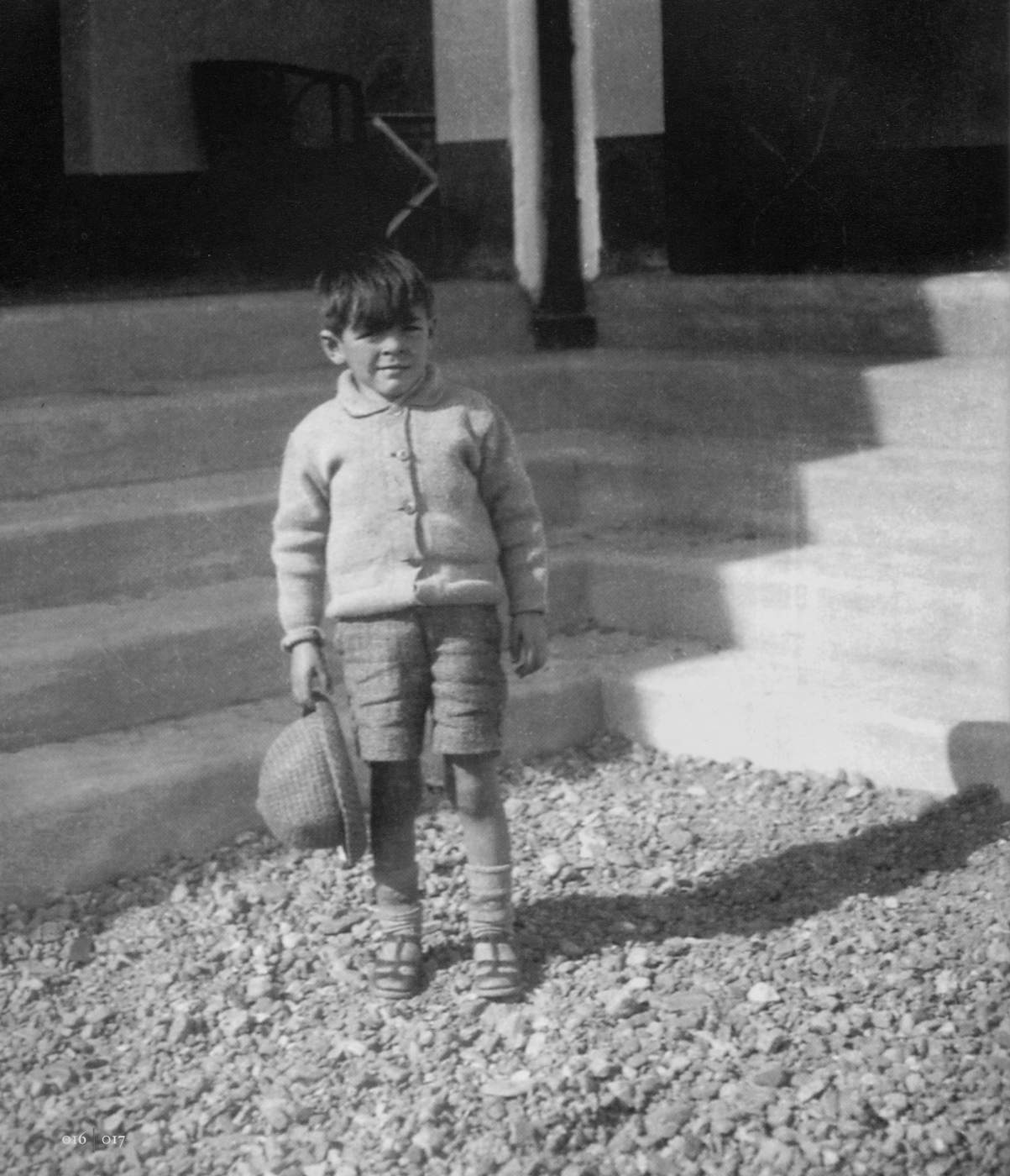El pequeño Ernesto Guevara con 6 años.  (Apic\/Getty Images)