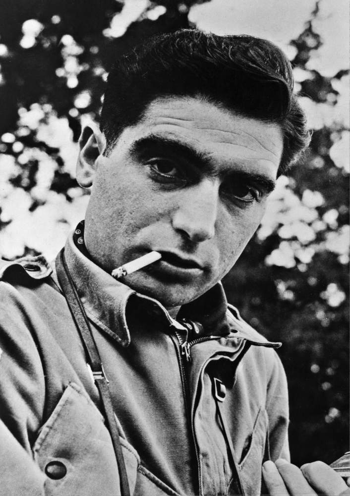 Robert Capa shortly before he died in a land mine explosion in Vietnam, then part of Indochina, on assignment for LIFE magazine