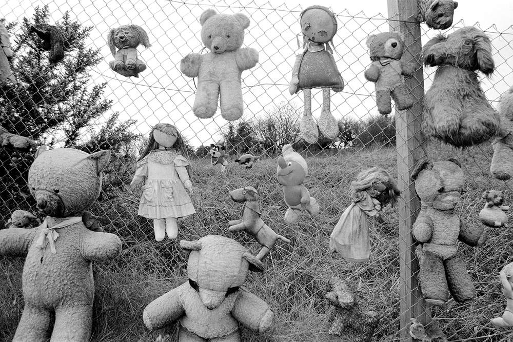 Toys retrieved from Penparc refuse site 1990, Hurn