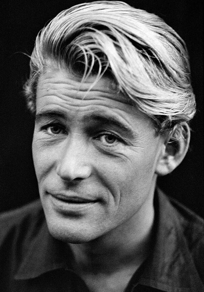Actor Peter O'Toole shot by Hurn in London, 1962