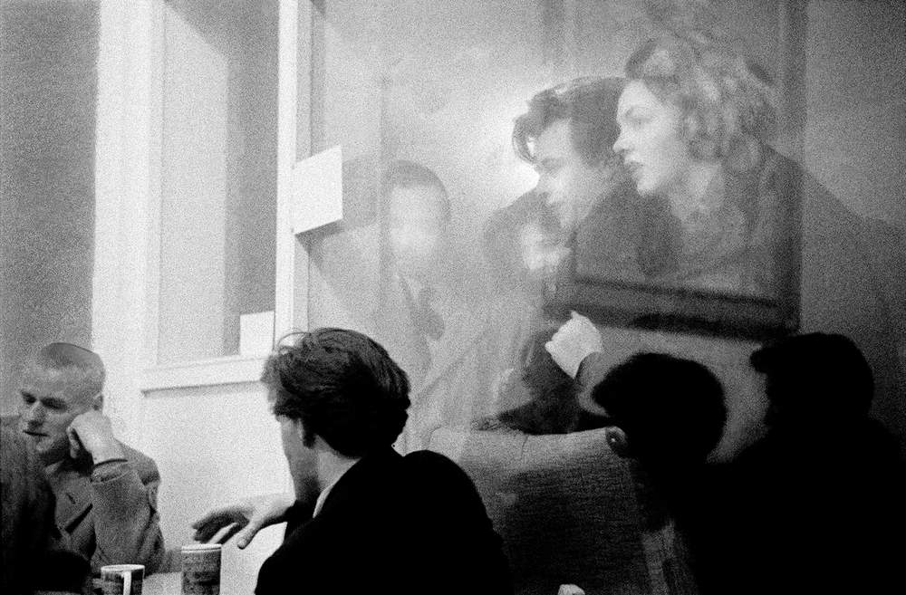 The Partisan coffee bar in Soho, shot by Hurn, 1957