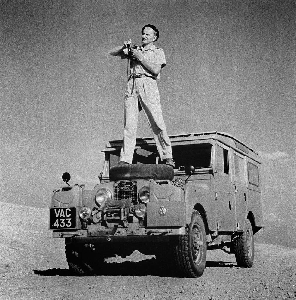 George Rodger in the Algerian Sahara, 1957