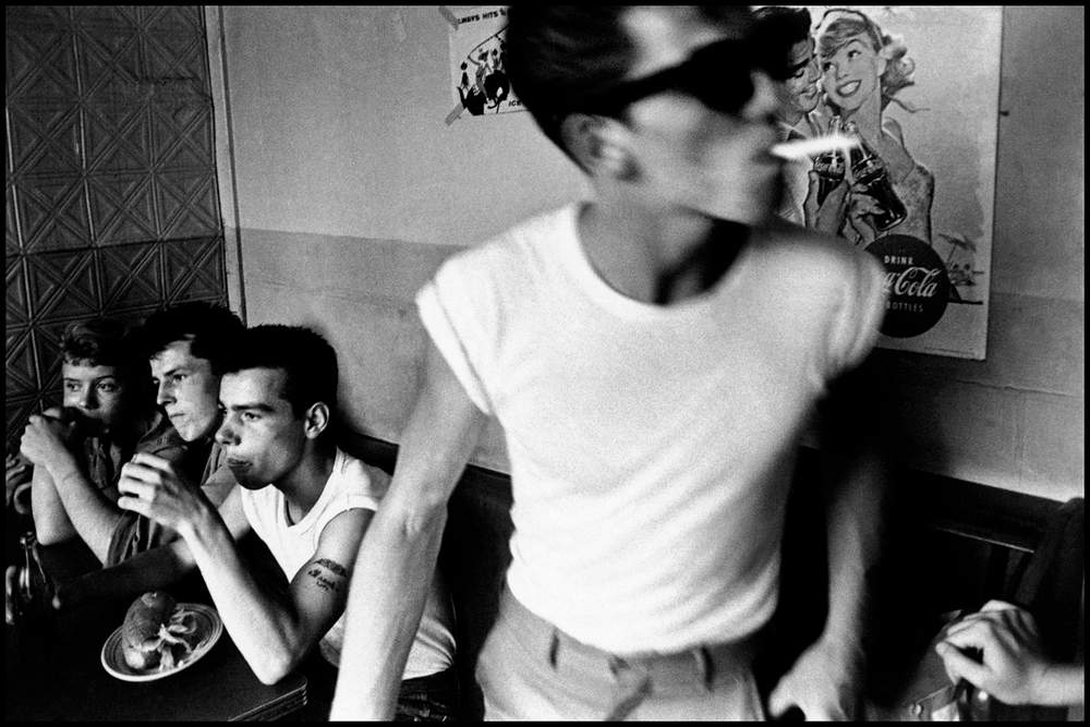 From Bruce Davidson's photo essay entitled Brooklyn Gang, New York, 1959