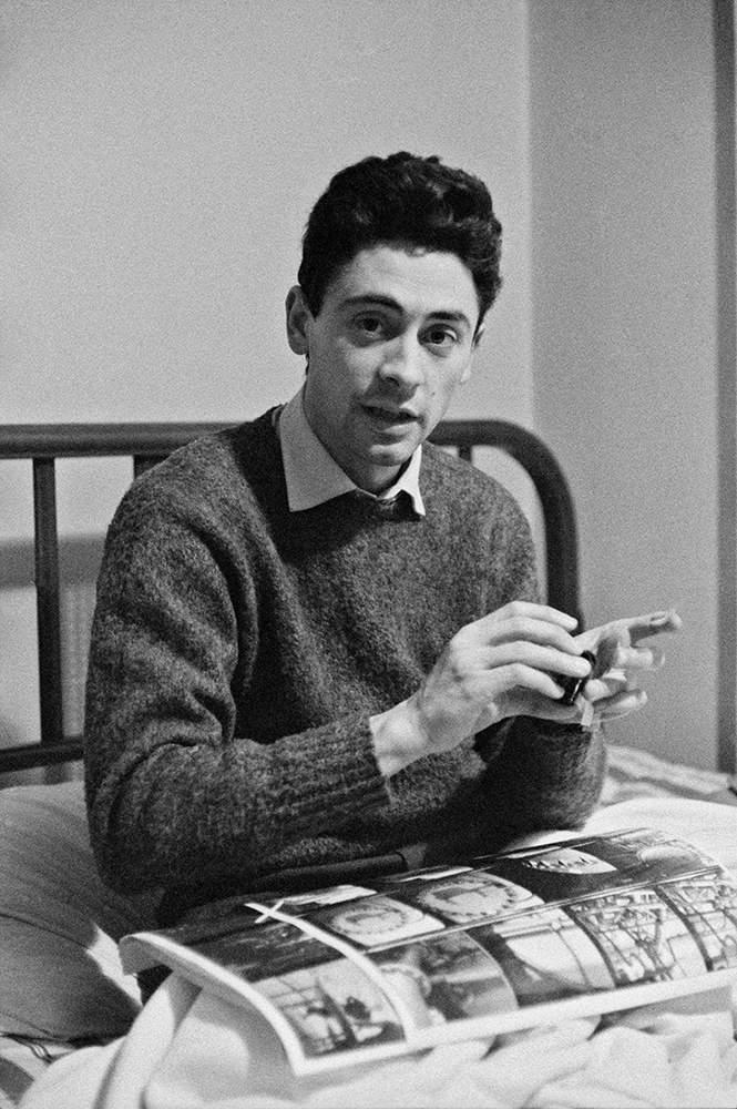 Chilean photographer Sergio Larrain in Paris 1959