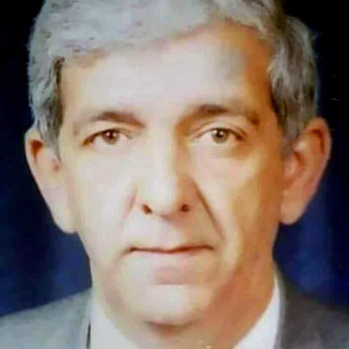 Obeid Agha al-Kaakaji as a younger man