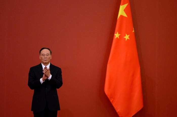 Xi's anti-corruption chief, Wang Qishan