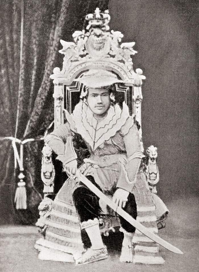 King Thibaw