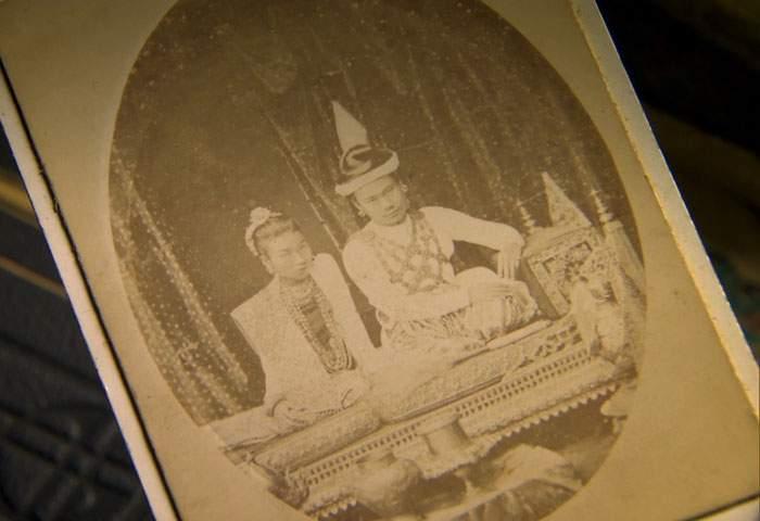 King Thibaw and Queen Supayalat