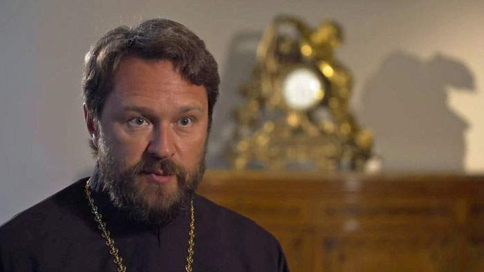 "Metropolitan Hilarion of the Russian Orthodox Church: The Bolshevik revolution was a ""criminal"" act"