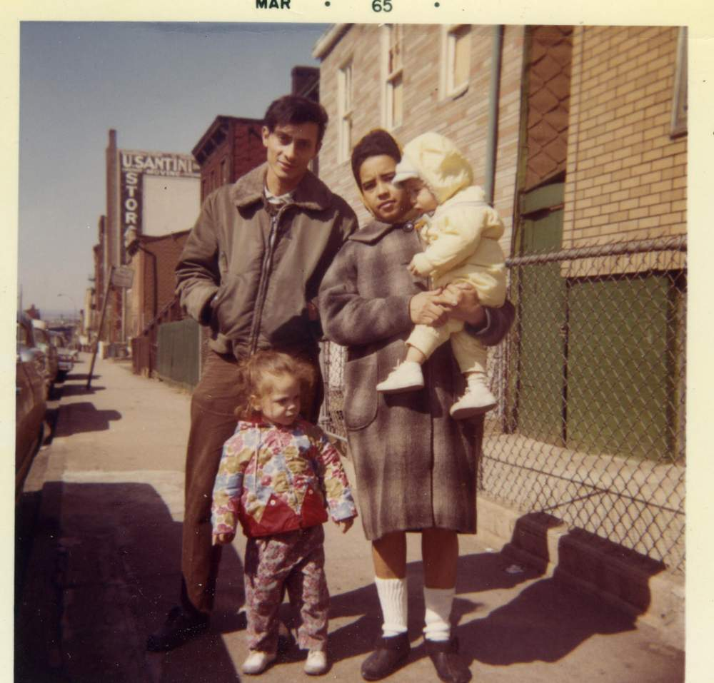 The Bonilla family in Park Slope, Brooklyn in March 1965