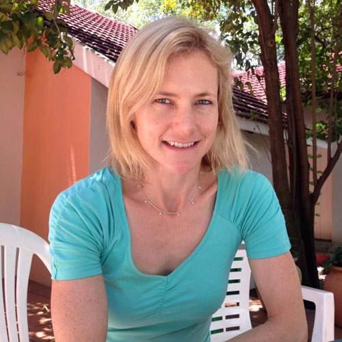 Catherine in Johannesburg
