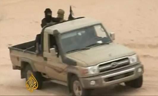 Members of al-Qaeda in northern Mali (Photo: Al Jazeera)