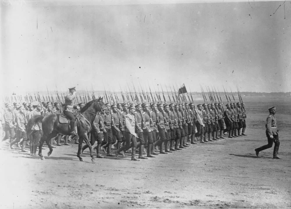 Birinci Dünya Savaşı'nın başlangıcında Rus ordusu