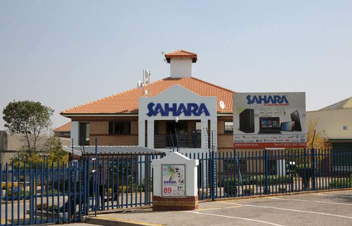 The Johannesburg HQ of Sahara Computers, owned by the Gupta family