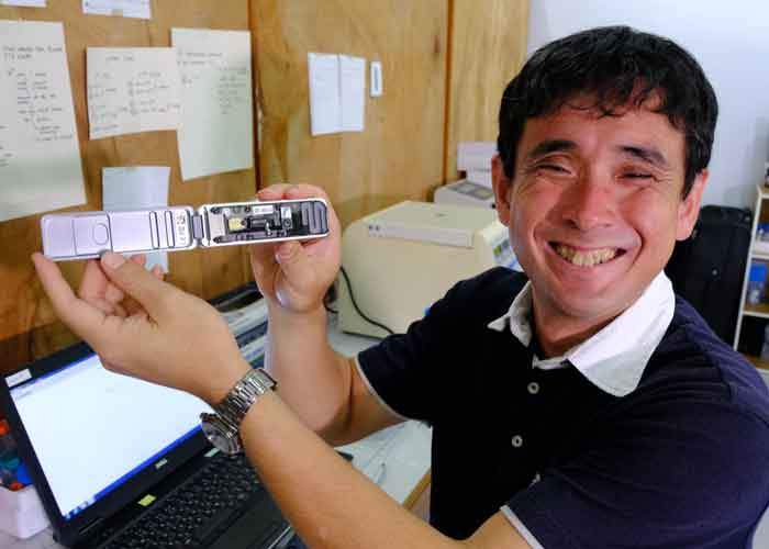 Professor Yutaka Suzuki of the University of Tokyo who saw the potential of MinION