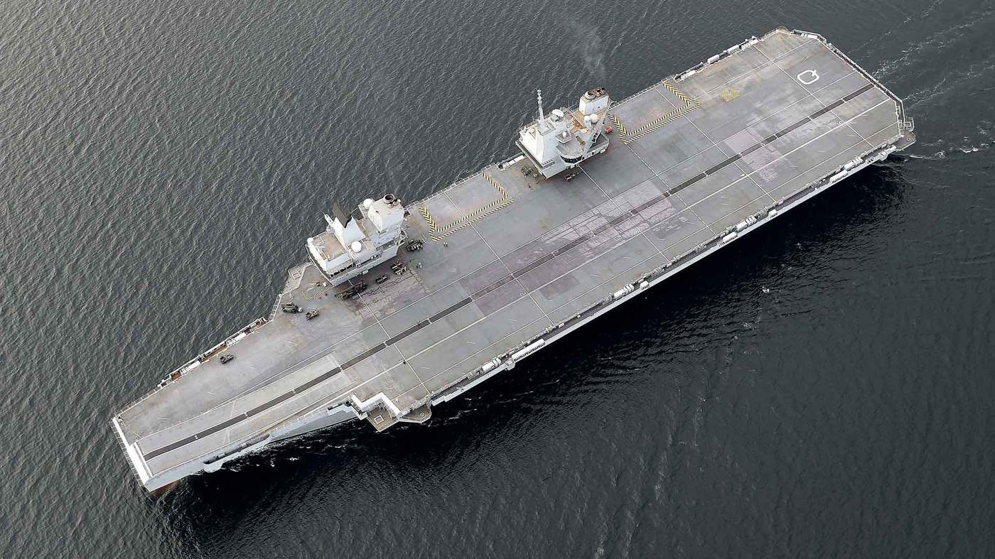The UK's giant aircraft carriers - BBC News