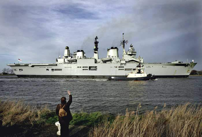 HMS Ark Royal, an Invincible-class carrier, was decommissioned in 2011
