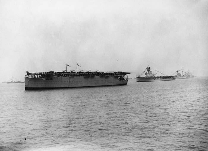 HMS Hermes, the world's first purpose-built aircraft carrier