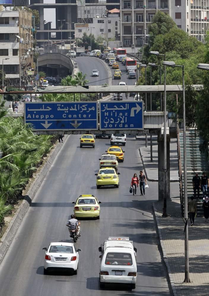 دمشق\/ جسر فيكتوريا 2013LOUAI BESHARA\/AFP\/Getty Images