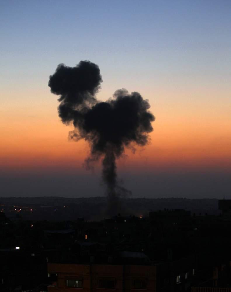 غزة 2014SAID KHATIB\/AFP\/Getty Images