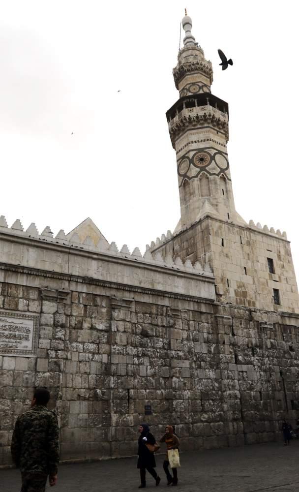 دمشق \/ الجامع الأموي 2016LOUAI BESHARA\/AFP\/Getty Images