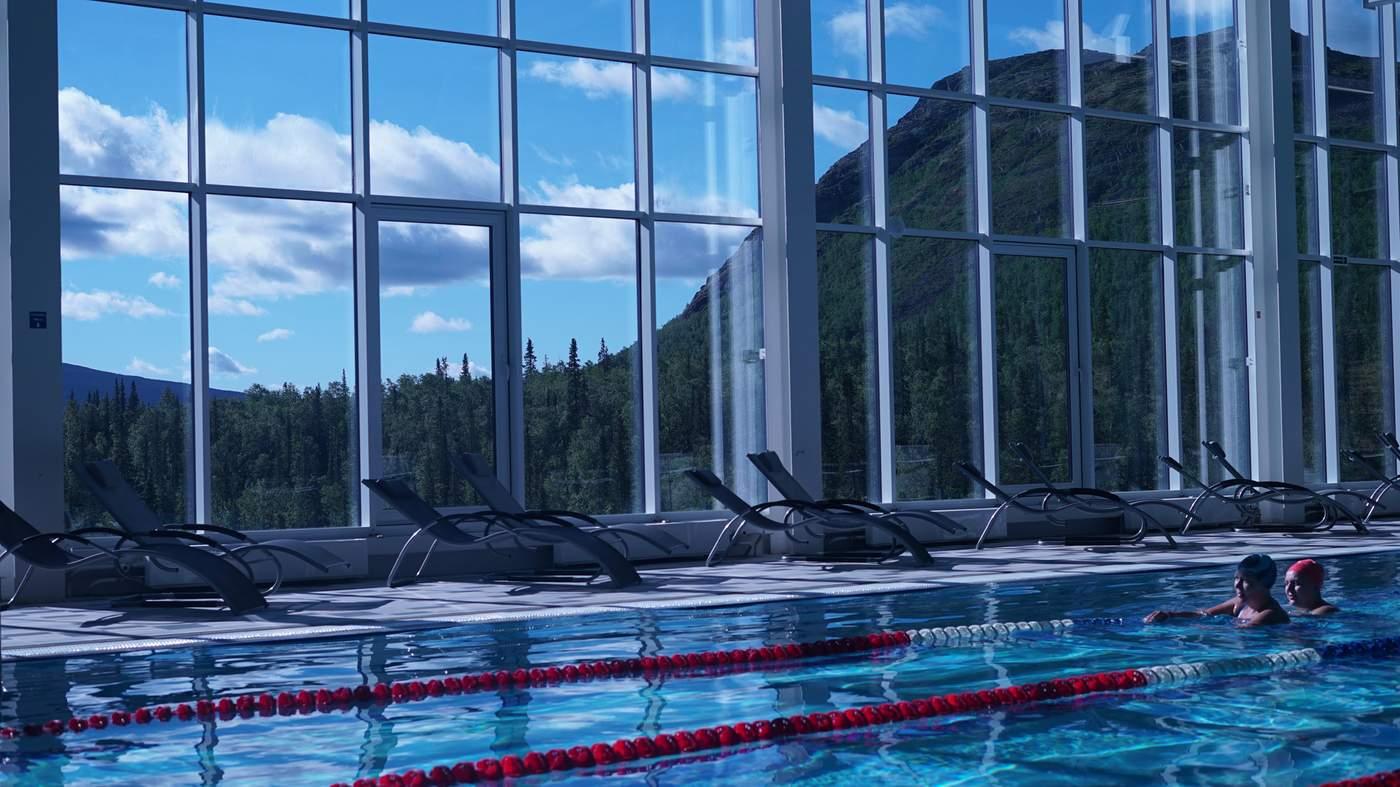 Swimming pool Lazurny (Yaroslavl) - favorite place for rest