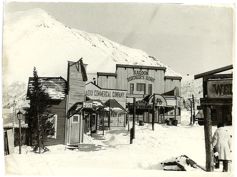"""Kirovsk stood in as an  American gold rush town in """"Smoke and the Boy"""", 1975"""