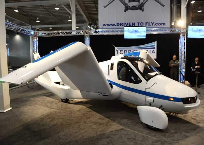 Terrafugia's 'Transition' flying car