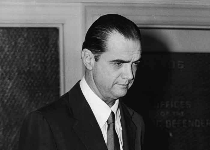 Howard Hughes, pictured in 1952 - by the 1970s the billionaire was living a reclusive existence