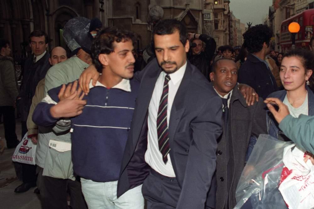 Yusef Abdullahi with brother Malik