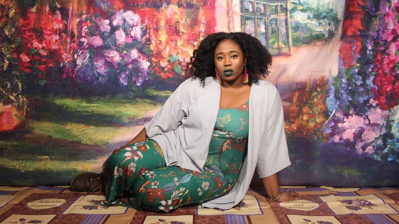 Black women bent over commit