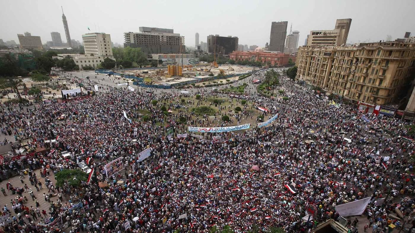 Tahrir Square, May 2011