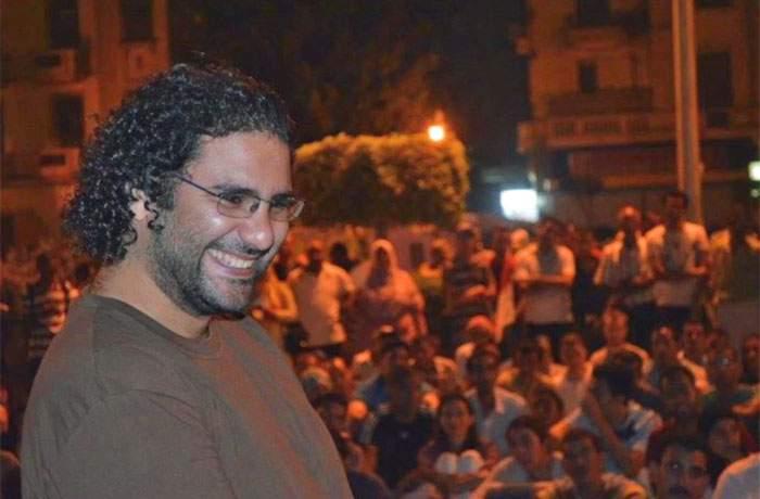 Alaa Abdel Fattah pictured in 2011