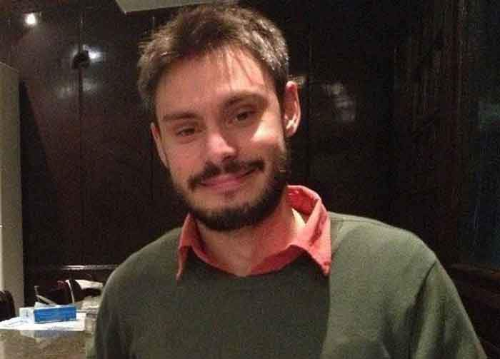 Giulio Regeni, an Italian student tortured and murdered in Cairo