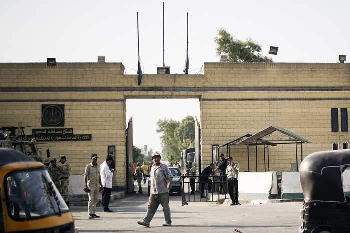 The gates of Cairo's Tora prison