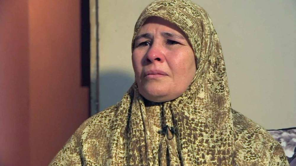 Um Zubeyda has not seen her daughter for 10 months
